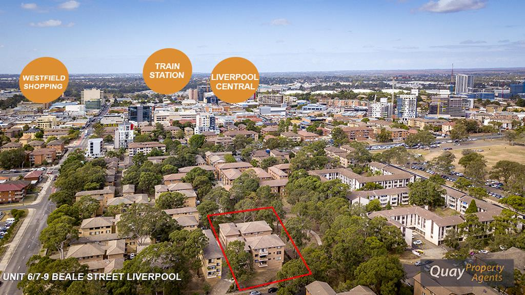 6/7 - 9 Beale St, Liverpool, NSW 2170