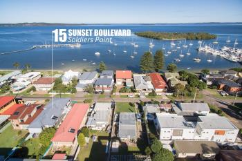 15 Sunset Bvd, Soldiers Point, NSW 2317