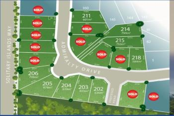 Lot 206 Admiralty Drive - Stage 1 , Safety Beach, NSW 2456