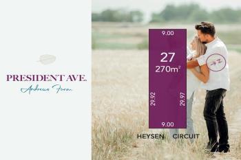 Lot 27 Heysen Cct, Andrews Farm, SA 5114