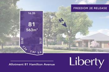 Lot 81 Hamilton Ave, Two Wells, SA 5501