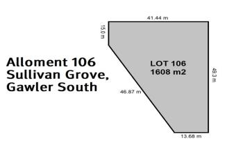Lot 106/ Sullivan Gr, Gawler South, SA 5118