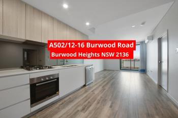 A502/12-16 Burwood Rd, Burwood, NSW 2134