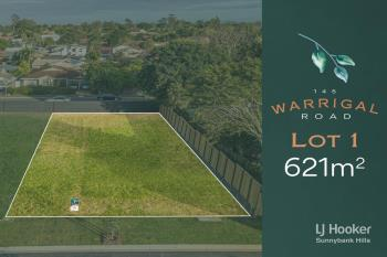 Lot 1/145 Warrigal Rd, Runcorn, QLD 4113