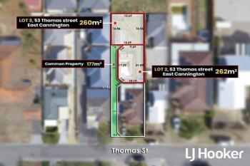 Lot 2 & 3/53 Thomas St, East Cannington, WA 6107