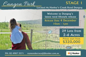 Lot 15/Lot 16 Hanleys Creek Rd, Dungog, NSW 2420