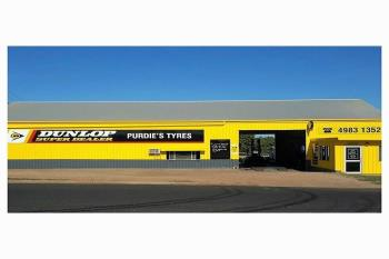 - Purdies Tyres , Clermont, QLD 4721