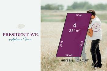 Lot 4 Heysen Cct, Andrews Farm, SA 5114