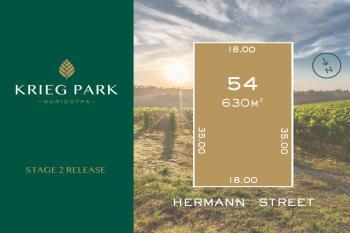 Lot 54 Hermann St, Nuriootpa, SA 5355