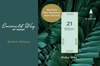 Lot 21 Ruby Way, Mount Barker, SA 5251
